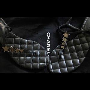 Designer leather strap sandals
